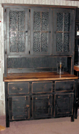 #0001 Hickory Top Hutch