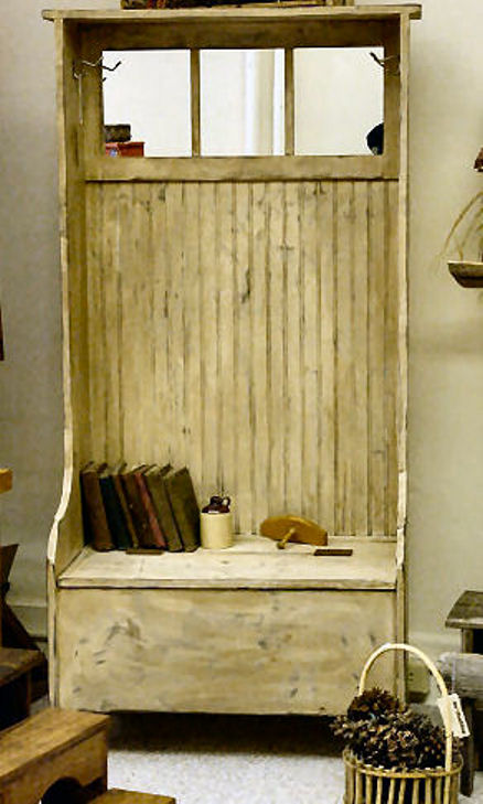 Our Woodshop Country Primitive Halltree